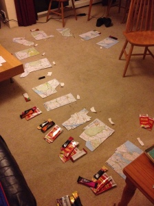 Maps. Maps everywhere.